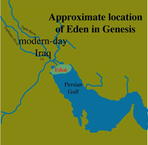 Garden of Eden Map